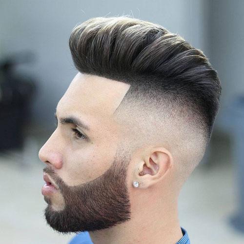 Pompadour-Haircut